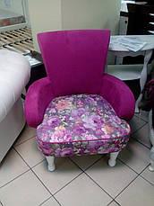 """Кресло с текстильной обивкой """"Любава"""" , фото 3"""
