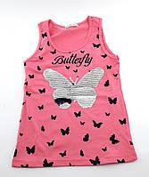 Кофточка майка на девочку 10 16 лет футболки детские для девочек