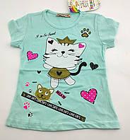 Футболка для девочки 1 2 7 8 лет футболки детские для девочек
