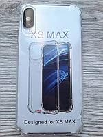 Чехол для iPhone XS Max силиконовый прозрачный TPU Transparent