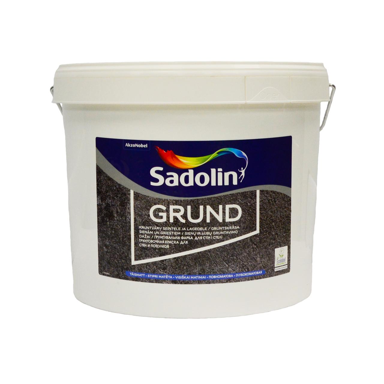 Грунтовочная краска Sadolin Grund (Садолин Грунт) 10л