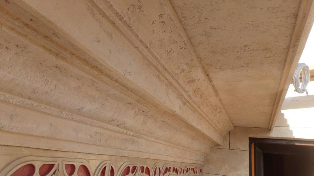 Декор фасадный под травертин