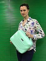 Дорожный бьюти-кейс Fly с креплением на чемодан, как дополнение к чемодану, мята