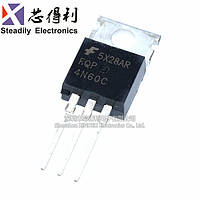 Транзистор FQP4N60C полевой МОП с триодом прямой разъем TO-220