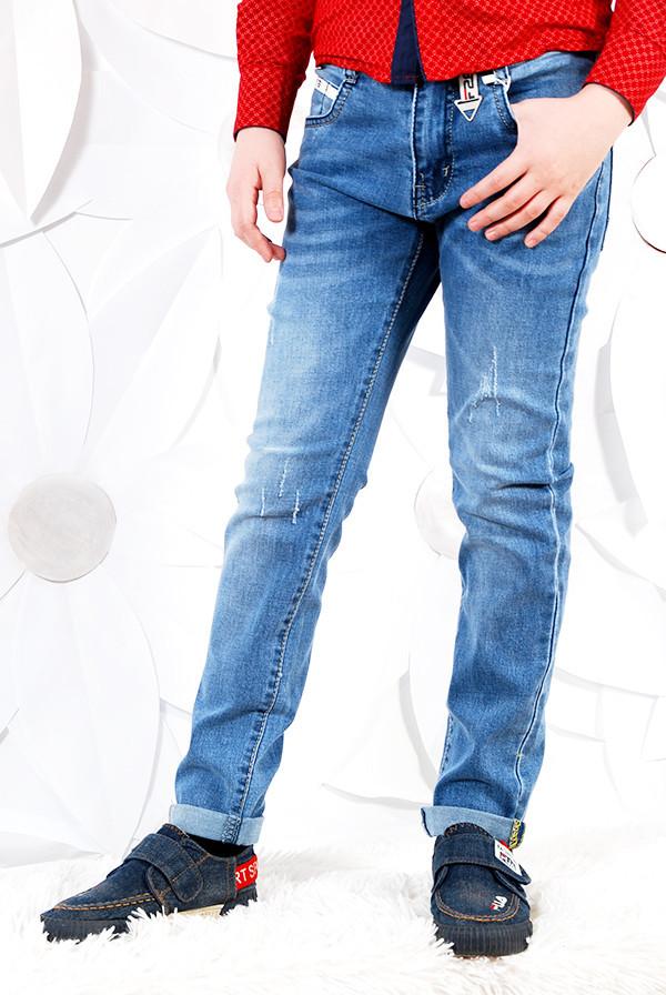 {есть:12 лет} Джинсовые брюки для мальчиков, F-26, Артикул: 01164-H [12 лет]