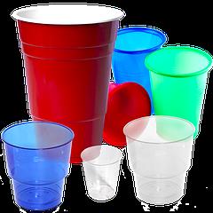 Пластикові стакани одноразові