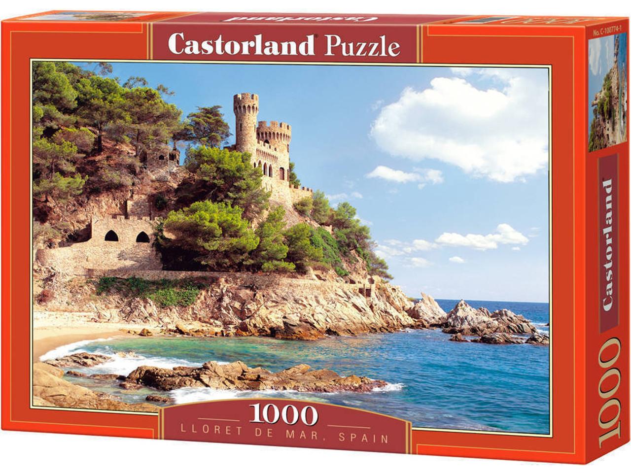 """Пазл Castorland """"Крепость Lloret de Mar, Испания"""" 1000 элементов"""