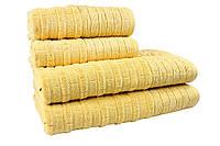 Махровое полотенце Daisy 70x140 см. Желтое (312548), фото 1