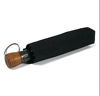 Зонт ZEST мужской полный автомат ручка прямая дерево 13930 черный, фото 1