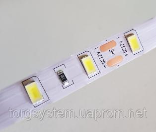 Светодиодная лента 2835-120led-8мм, IP20 18-20lm, белый, тепло-белый цвета