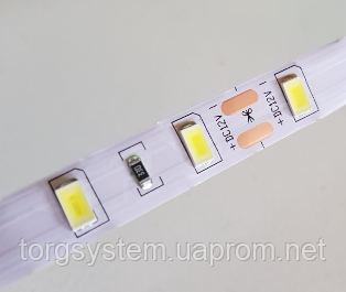 Світлодіодна стрічка 2835-120led-8мм, IP20 18-20lm, біла