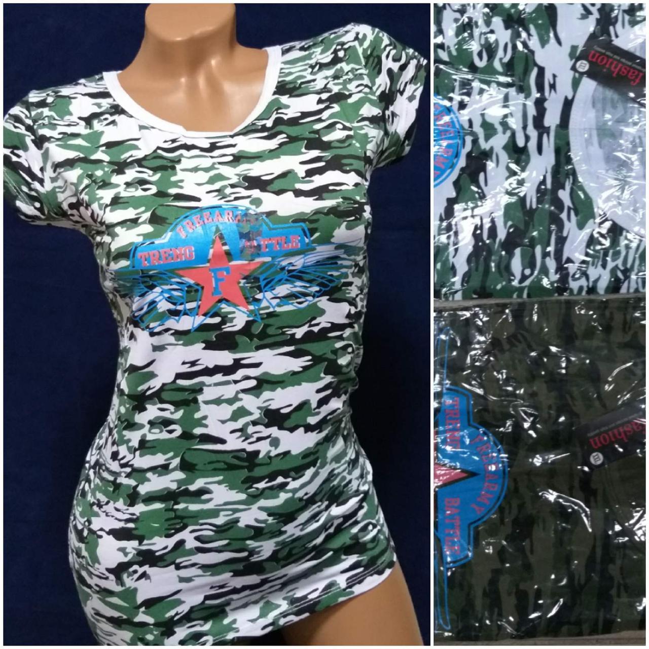 Женская футболка Treng