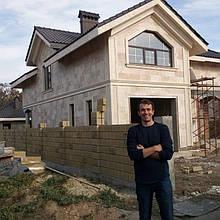 Архитектурные декоративные элементы с отделкой под травертин в Одессе 1