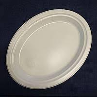 Тарелка одноразовая 260 мл 100 шт/уп Андрекс плотная
