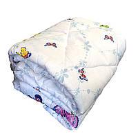 Одеяло евро размер холлофайбер СТАНДАРТ, ткань бязь (поликоттон)