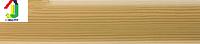 Плинтус пластиковый Salag 56мм сосна 05, плинтус с мягкими краями, плинтус напольный с кабель каналом.