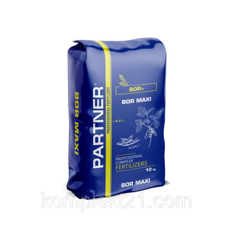 Водорастворимое минеральное удобрение Партнер PARTNER Bor Maxi B21% (10 кг)