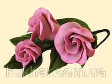 Гілочка еустоми фарбована рожева