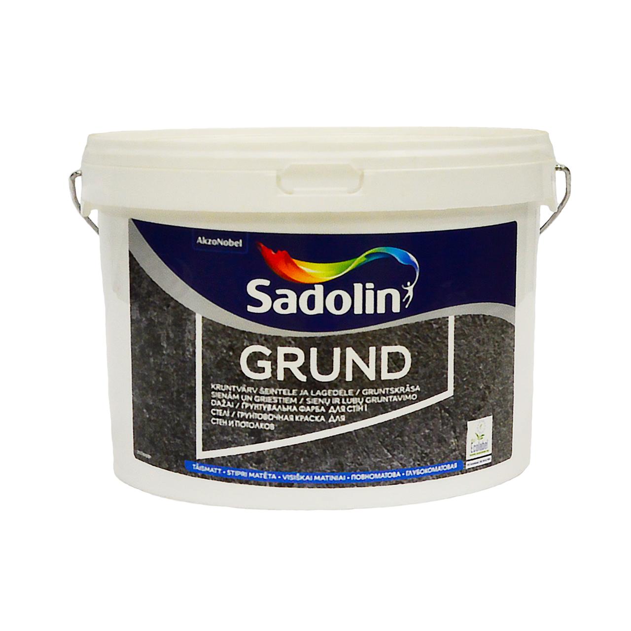 Грунтовочная краска Sadolin Grund (Садолин Грунт) 2.5 л