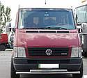Защита переднего бампера (ус двойной) Volkswagen LT-35 1996-2006, фото 2