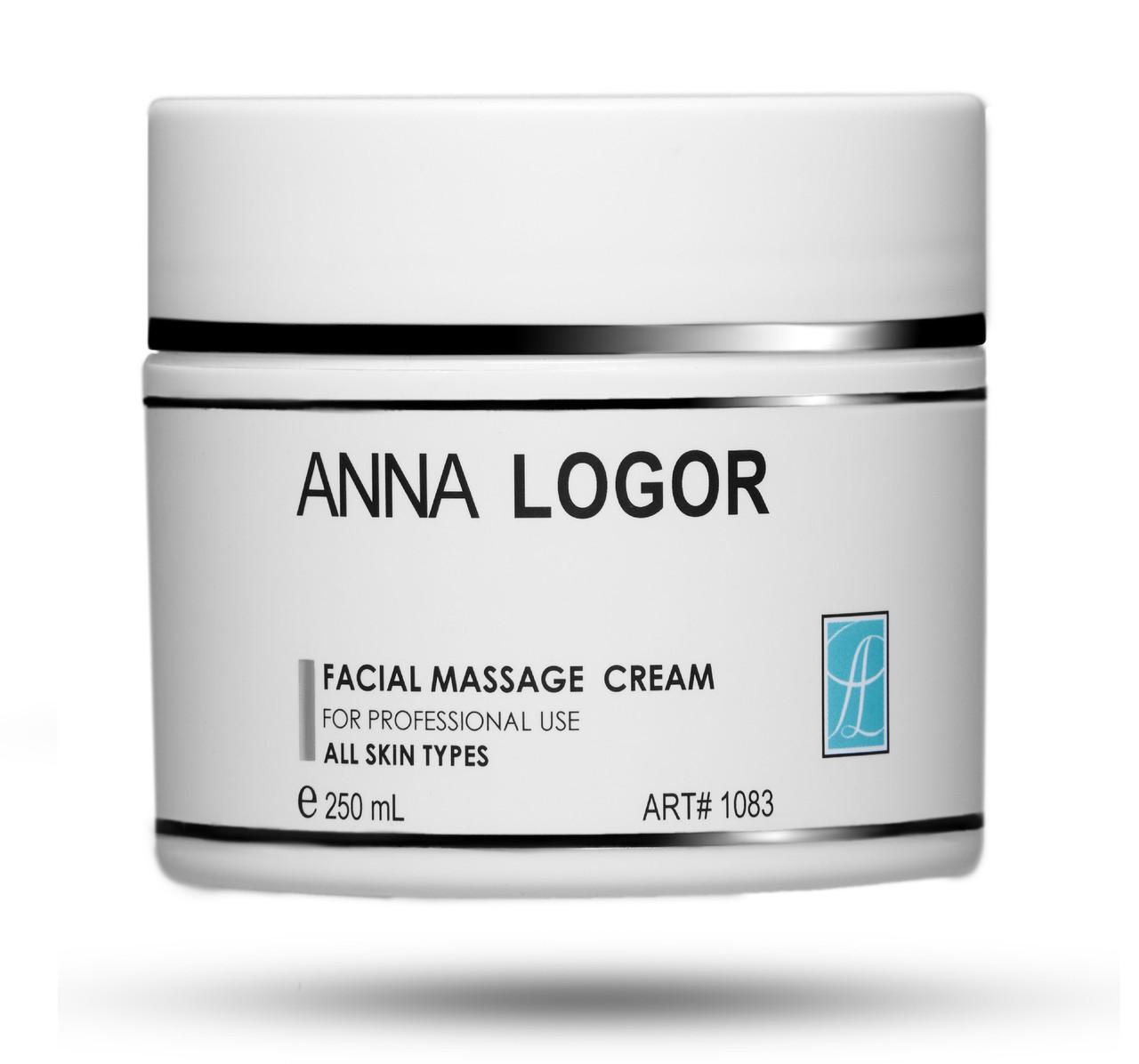 Крем массажный для лица Anna LOGOR Facial Massage Cream 250 ml Art.1083