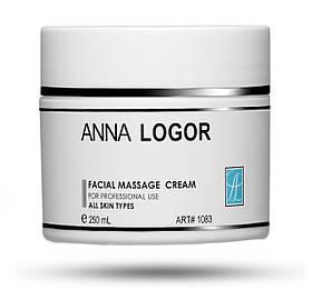 Масажний крем для обличчя Anna Logor Facial Massage Cream 250 ml Art.1083