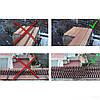 Шипи від птахів і тварин напівпрозорі 50*3 см, фото 3