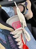 Женские стильные кроссовки Off-White Beige ( Premium ), фото 8