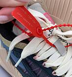Женские стильные кроссовки Off-White Beige ( Premium ), фото 9