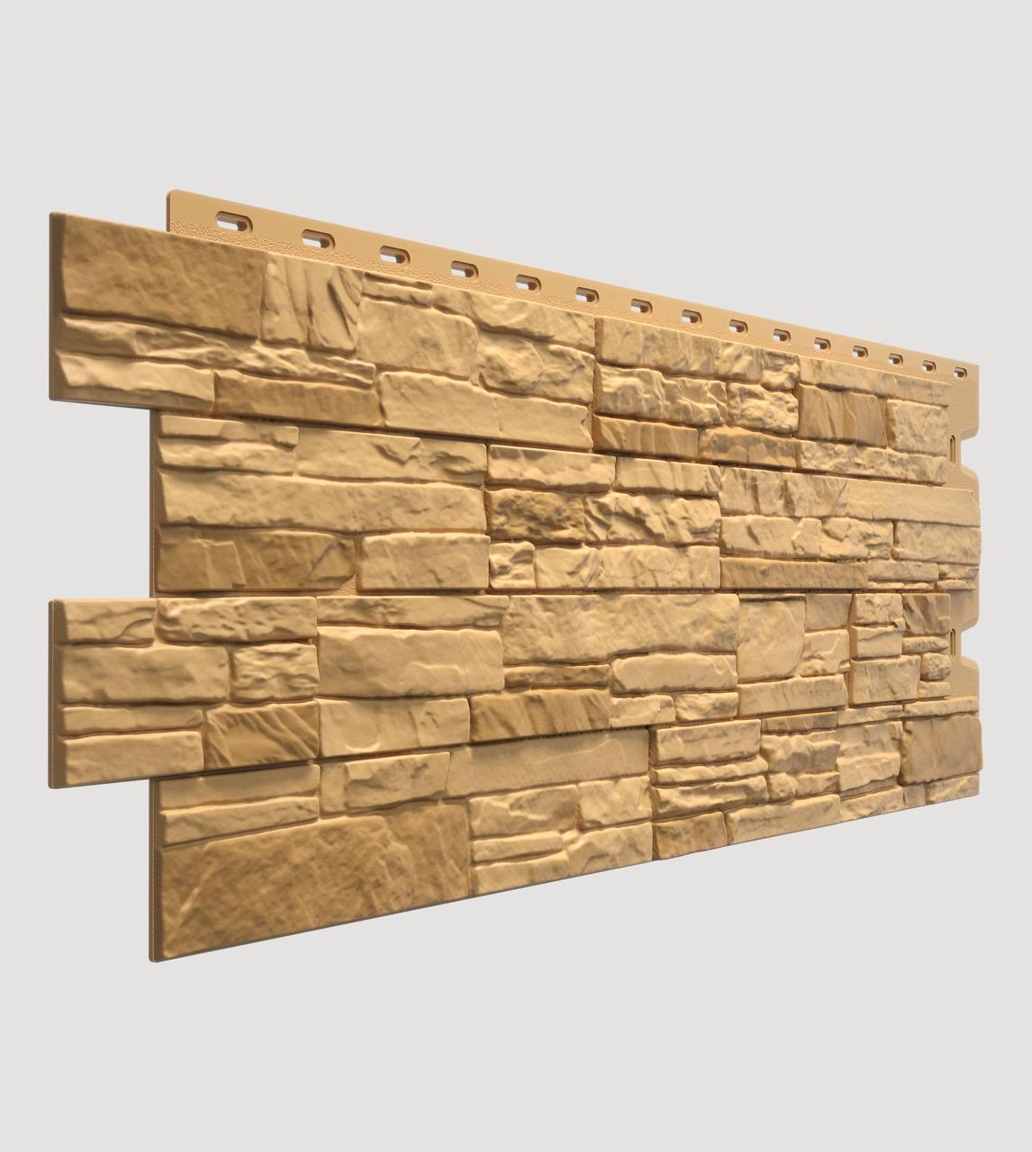 Фасадная панель Docke Stein бронзовая (песчаник)