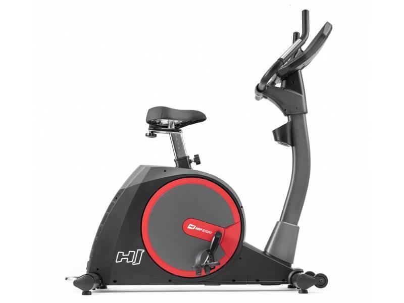 Велотренажер для дому вертикальний до 150 кг HS-300H Aspect чорний+ телеметричним поясом + мат під тренажер