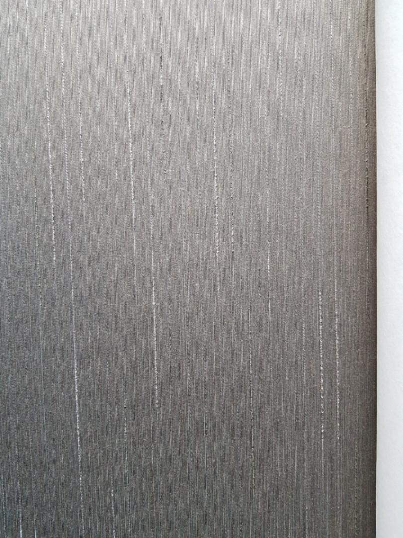 Текстильні шпалери на флізеліновій основі Cador Rasch Textil 073194 під дрібний бамбук темно-сірий графітовий