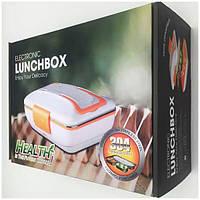 Электрический Ланч бокс с подогревом и металлической съемной чашей 304 lunch box