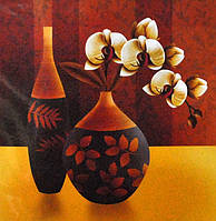 Набор для вышивки крестиком. Орхидея в вазе.