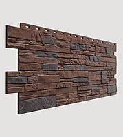 Фасадная панель Docke Stein темный орех (песчаник)