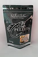 Пеллетс прикормочный Klasster Груша - Чеснок  (гранула 4мм)  500г