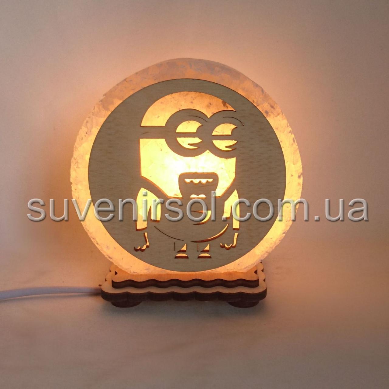 """Соляная лампа круглая маленькая """"Миньон 2"""""""