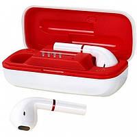 Наушники беспроводные Bluetooth Joyroom JR-T06 mini с кейсом, белые