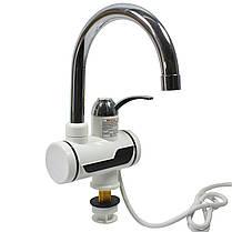 Кран-водонагреватель TEMMAX RX-001 электрический для горячей воды быстрый нагрев 3000 Вт с дисплеем, фото 2