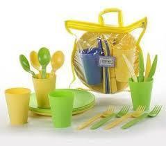 Набор посуды для пикника Ucsan на 4 персоны