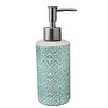 """Керамический набор для ванной комнаты S&T """"Голубой узор"""", фото 2"""