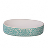 """Керамический набор для ванной комнаты S&T """"Голубой узор"""", фото 5"""