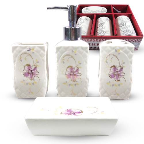 """Керамический набор для ванной комнаты S&T """"Франческа"""""""