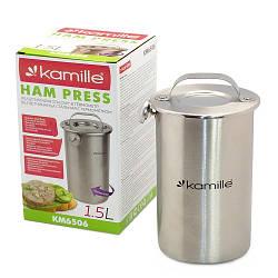 Ветчинница Kamille с термометром на 1.5 кг