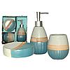 """Керамический набор для ванной комнаты S&T """"Luxury"""", фото 2"""