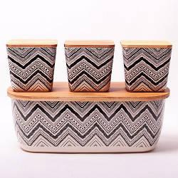 Хлебница Kamille с 3 дополнительными ёмкостями