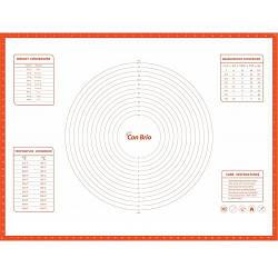 Силиконовый коврик с разметкой Con Brio 60 х 80 см