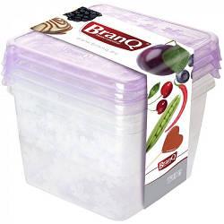 Набор емкостей для хранения BranQ Rukkola 3 шт