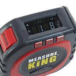 Рулетка Measure King 3 в 1 (лазер, шнур, ролик), фото 3