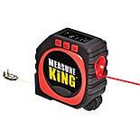 Рулетка Measure King 3 в 1 (лазер, шнур, ролик), фото 5